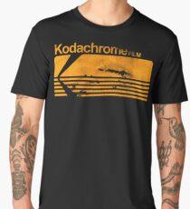Kodachrome Vintage Film Stock Logo Men's Premium T-Shirt