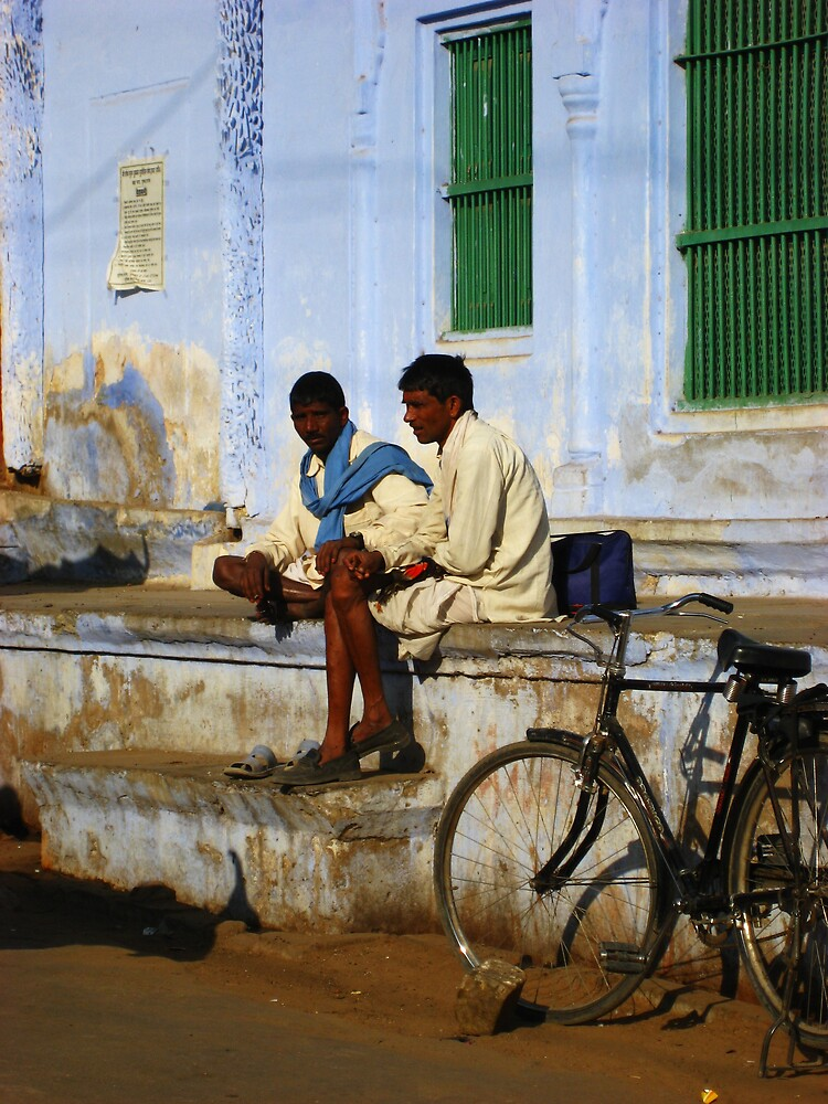 Locals in Jodhpur, India by mypics4u