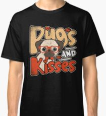 Pugs And Kisses Classic T-Shirt