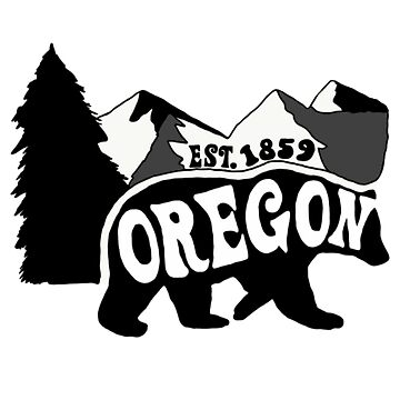 Oregon bear scene by LaurenConnellyy