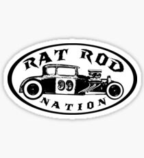 Rat Rod Nation Design Sticker