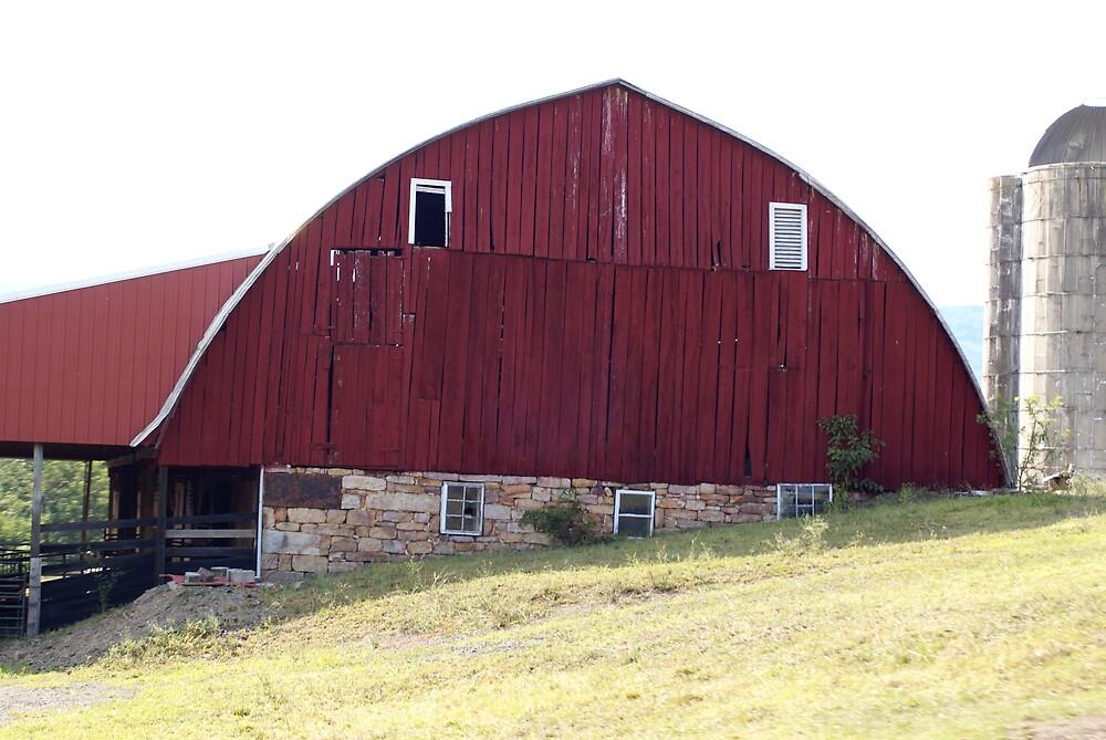 Red Barn by Cassy Greenawalt