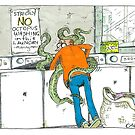 No Octopus Washing by Paul  Carlyle