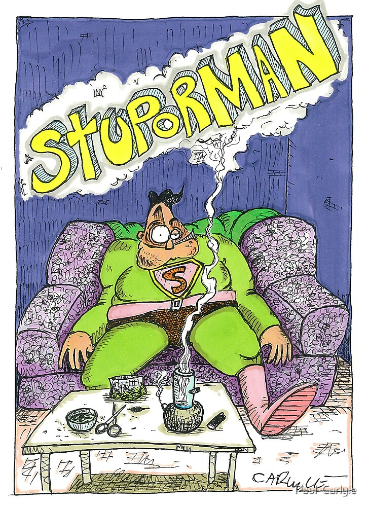 Stuporman by Paul  Carlyle