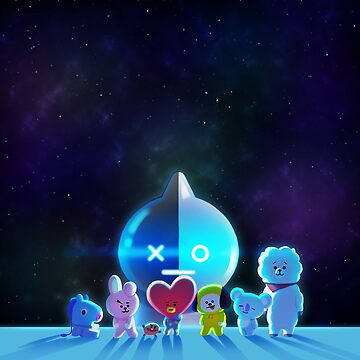 BT21 Galaxy by McRemnant