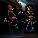 Fastest Draw Midnight Moon by Tom Godfrey