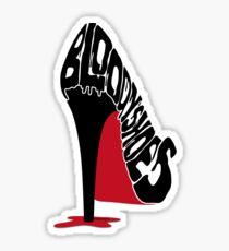 Pegatina Bloody Shoes