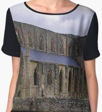 Tintern Abbey, North Façade  Chiffon Top