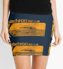 Kodachrome Film Stock logo vintage small Mini Skirt