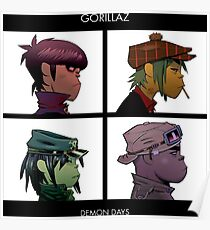 good demon days Poster