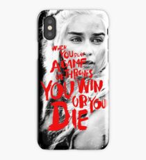 Great Fantasy Story Game of Thrones iPhone Case/Skin