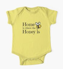 Home is where the Honey is One Piece - Short Sleeve