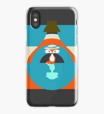 Cute fox reflection iPhone Case