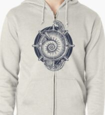 Sea adventure Zipped Hoodie