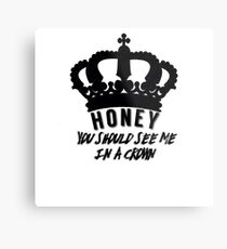 Moriarty quote design Metal Print
