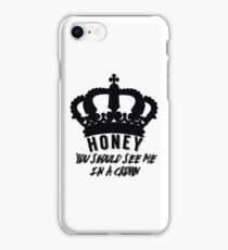 Moriarty quote design iPhone Case/Skin