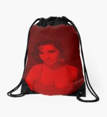 Elizabeth Taylor - Celebrity Drawstring Bag