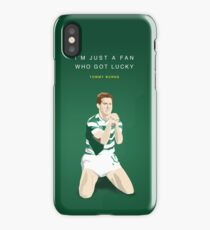 Tommy Burns - Mr Celtic iPhone Case