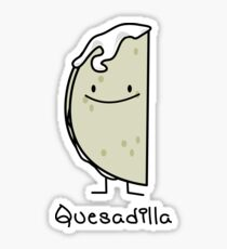 Quesadilla Mexican grilled Tortilla with Cheese Sticker
