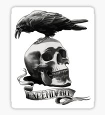 The expendables Sticker