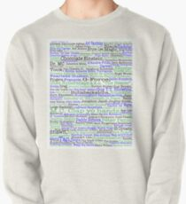 Psych tv show poster, nicknames, Burton Guster Pullover Sweatshirt