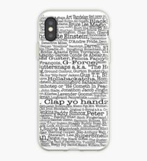 Psych tv show poster, nicknames, Burton Guster iPhone Case