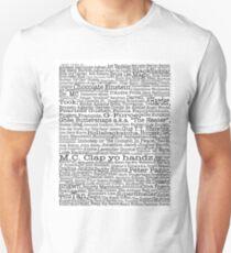 Psych tv show poster, nicknames, Burton Guster Unisex T-Shirt