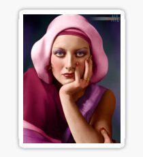 Joan Crawford, ca 1920 Sticker