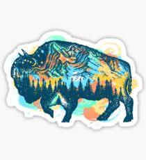 Buffalo Sticker