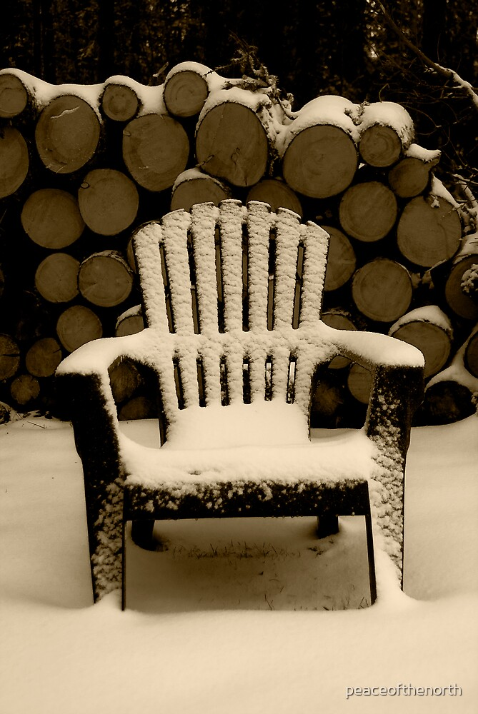 Sepia Chair by peaceofthenorth