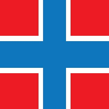 Norway Flag Pattern by UnoWho21