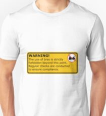 No Bras! T-Shirt
