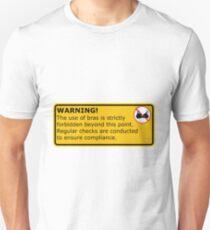 No Bras! Slim Fit T-Shirt