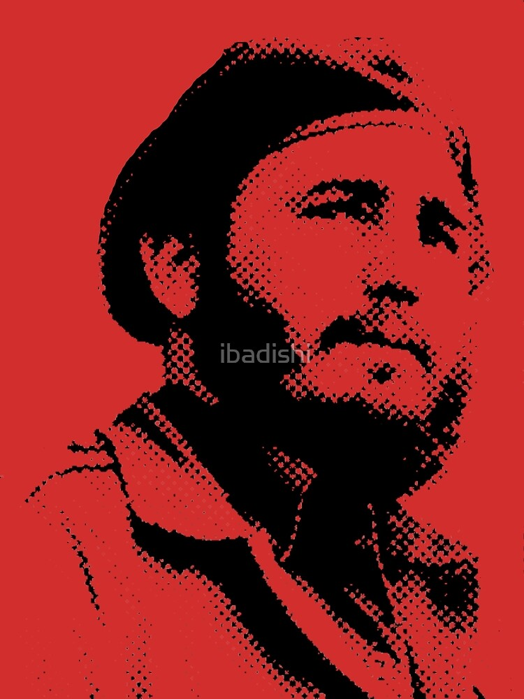 Young Fidel Castro with a Dreamy Look and Beret by ibadishi