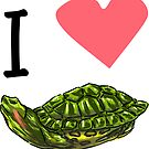 I Heart Terrapins by aidadaism