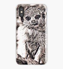 Rustic Style - Meerkat Baby iPhone Case/Skin