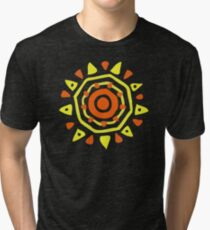NEW ED773 Southwestern Sun Summer Spirit For Everyone Best Product Tri-blend T-Shirt