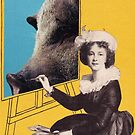 «Vintage photo collage» de Krzyzanowski Art