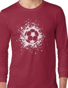 futbol : soccer splatz Long Sleeve T-Shirt