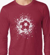futbol : soccer splatz Long Sleeve T-Shirt