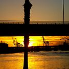 Sunset Dock by Josh Prior