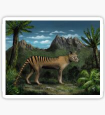 Tasmanian Tiger / Thylacine Sticker