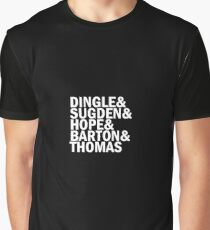 Emmerdale Names Graphic T-Shirt