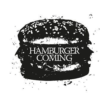 Hamburger is Coming Parody by udesignstudio