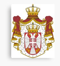 Coat of arms of Serbia Canvas Print