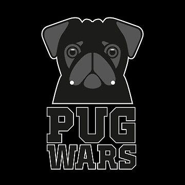 Pug Wars - Darth Vader by wiscan