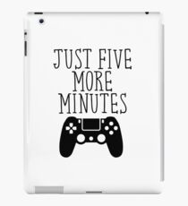Just Five More Minutes - PS iPad Case/Skin