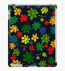 Colourful Fig Tree by Night iPad Case/Skin