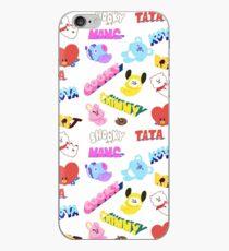 BT21 line friends mang shooky chimmy koya tata cooky rj iPhone Case