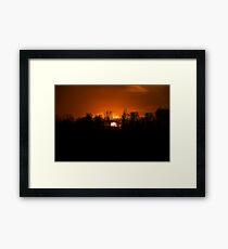 West Virginia Sunset Framed Print